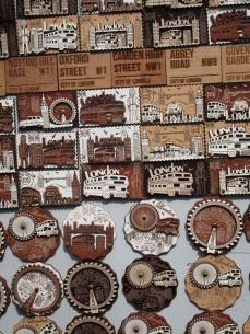 Souvenir magnets